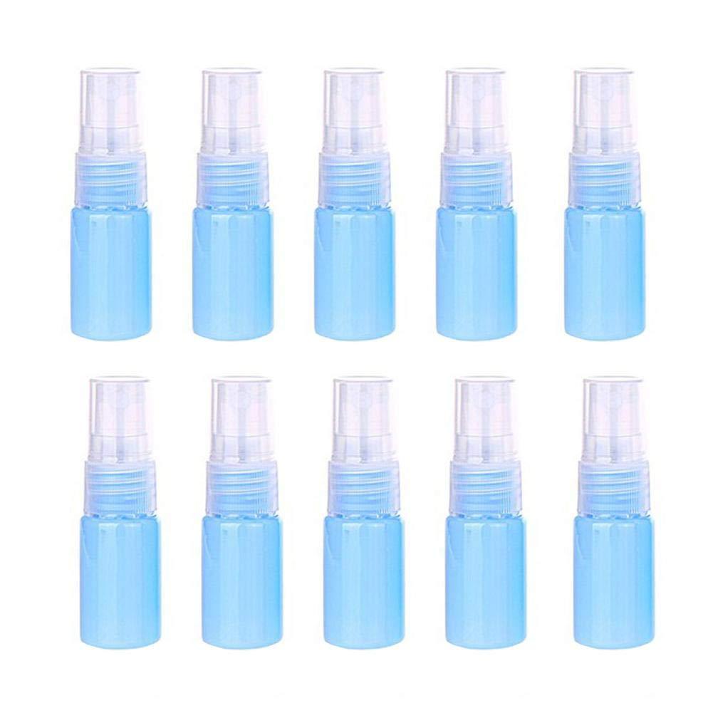 colore: giallo Artily - AMLTX9IPLK Blu Blue 10 ml in plastica Flaconi spray da viaggio
