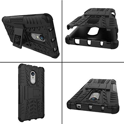 OFU®Para LG X power2 5.5 Smartphone, Híbrido caja de la armadura para el teléfono LG X power2 5.5 resistente a prueba de golpes contra la lucha de viaje accesorios esenciales del teléfono-verde negro