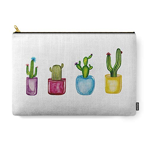 Bright Cactus Apparel - Society6 Pouch, Size Large (12.5