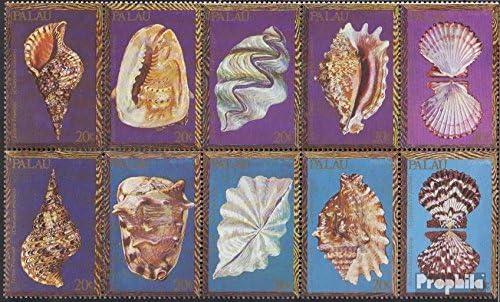 Prophila Collection Palau-Islas Michel.-No..: 37-46 Zehnerblock ...