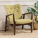 Christopher Knight Home 300387 Becker Fabric Arm Chair, Wasabi