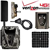 Spartan Ghost Trail Camera GC-W4Gb Solar Panel 12V Power Cable Adapter Connector SC-CBL-GST-QC