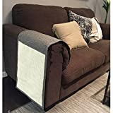 Sofa Shield Cover Protector Animal Ultimate Cat Scratcher Scratching Pad (Gray)