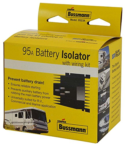 Price comparison product image Bussmann (RB-BI-95A) 95 Amp Battery Isolator