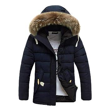 Abrigo hombre invierno,ZARLLE abrigos hombre largos,abrigos con capucha hombre invierno largos 2018
