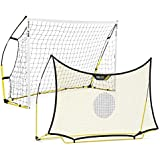 SKLZ Quickster 8x5ft / 2,40x1,50m Soccer Combo System (One Goal and One Rebounder)