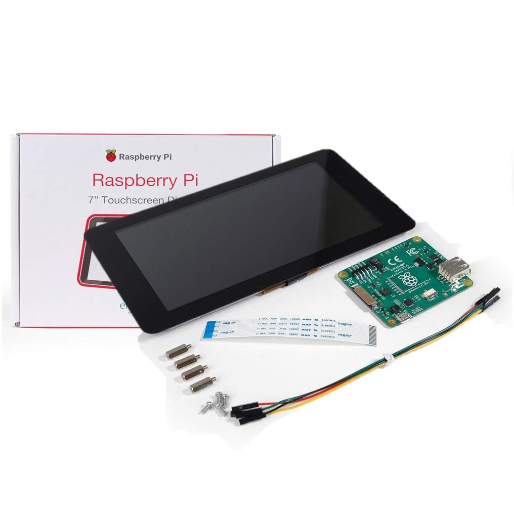 V-Kits Raspberry Pi 3 Model B+ (Plus) Complete Starter Kit with 7'' LCD Touchscreen Monitor & Mini Keyboard with Touchpad Combo by Vilros (Image #9)