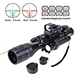 Best Ar 15 Scopes - Hiram Parallax Adjustable 4-16x50EG Rifle Scope Combo Review