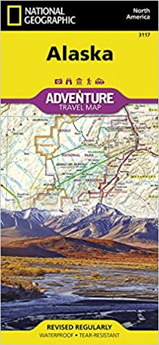 Alaska (National Geographic Adventure Map): National Geographic Maps ...