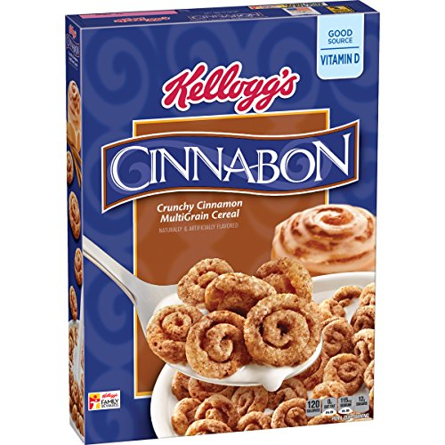 KELLOGG'S Cereal, Cinnabon, 9 Ounce