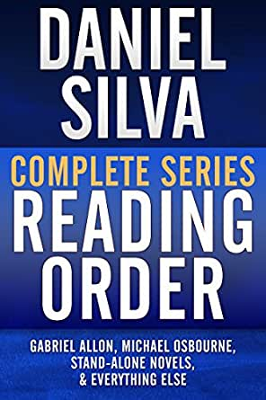 DANIEL SILVA COMPLETE SERIES READING ORDER: Gabriel Allon