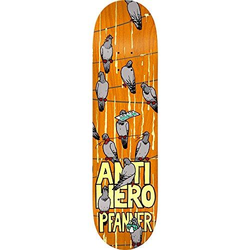 メイエラしおれた解くAnti Hero Skateboards Chris Pfanner電話会議スケートボードデッキ – 8.4