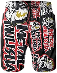 Maria Oro Metal Mulisha World Do-mi-Nation Born to Ride Men's Classic Fit Perfect Short Summer Beach Swim