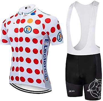 ADKE Conjunto Ropa Ciclismo para Mujer, Maillot Ciclismo Mangas Cortas y Culotte Pantalones Cortos Bicicleta con 5D Gel Pad, Equipacion Ciclismo para Verano: Amazon.es: Deportes y aire libre