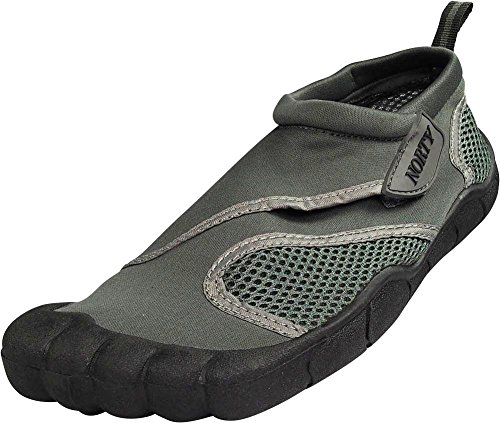 NORTY - Young Mens Skeletoe Aqua Water Shoe, Grey 39400-10D(M) US from NORTY