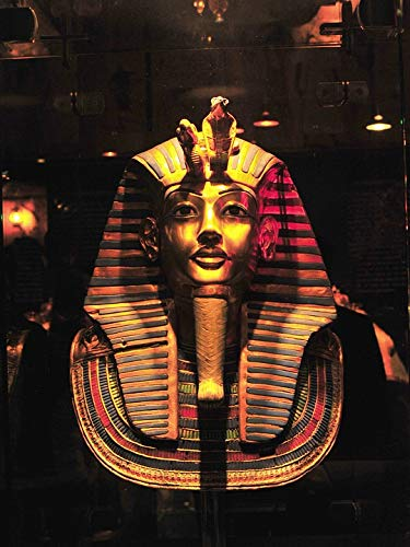 (Home Comforts Peel-n-Stick Poster of Pharaoh Egypt Mask Funeral Mummy Old Egyptian Vivid Imagery Poster 24 x 16 Adhesive Sticker Poster Print)