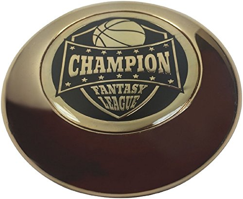 Fantasy Basketball Trophy Paperweight - Solid Metal!