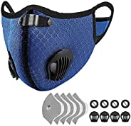 Outdoor Anti-dust Mask, PM 2.5 Windproof Cycling Facemask Washable Face Cover for Outdoor, Sports, Motorcycles