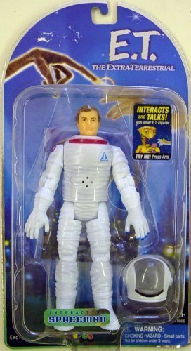 Interacative Spaceman from the Movie E.T. The Extra Terrestrial by Pacific Playthings