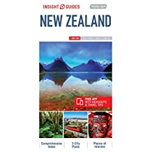 Insight Guides Travel Map New Zealand