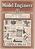 img - for The Model Engineer: Vol. 78, No. 1924, Thursday, March 24, 1938 book / textbook / text book