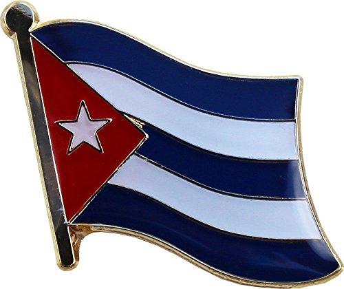 MWS Cuba Country Flag Bike Motorcycle Hat Cap Bags Jacket Unisex Beautiful Enamel pin Premium Lapel Pin