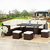Wisteria Lane Patio Furniture Set,7 PCS Outdoor