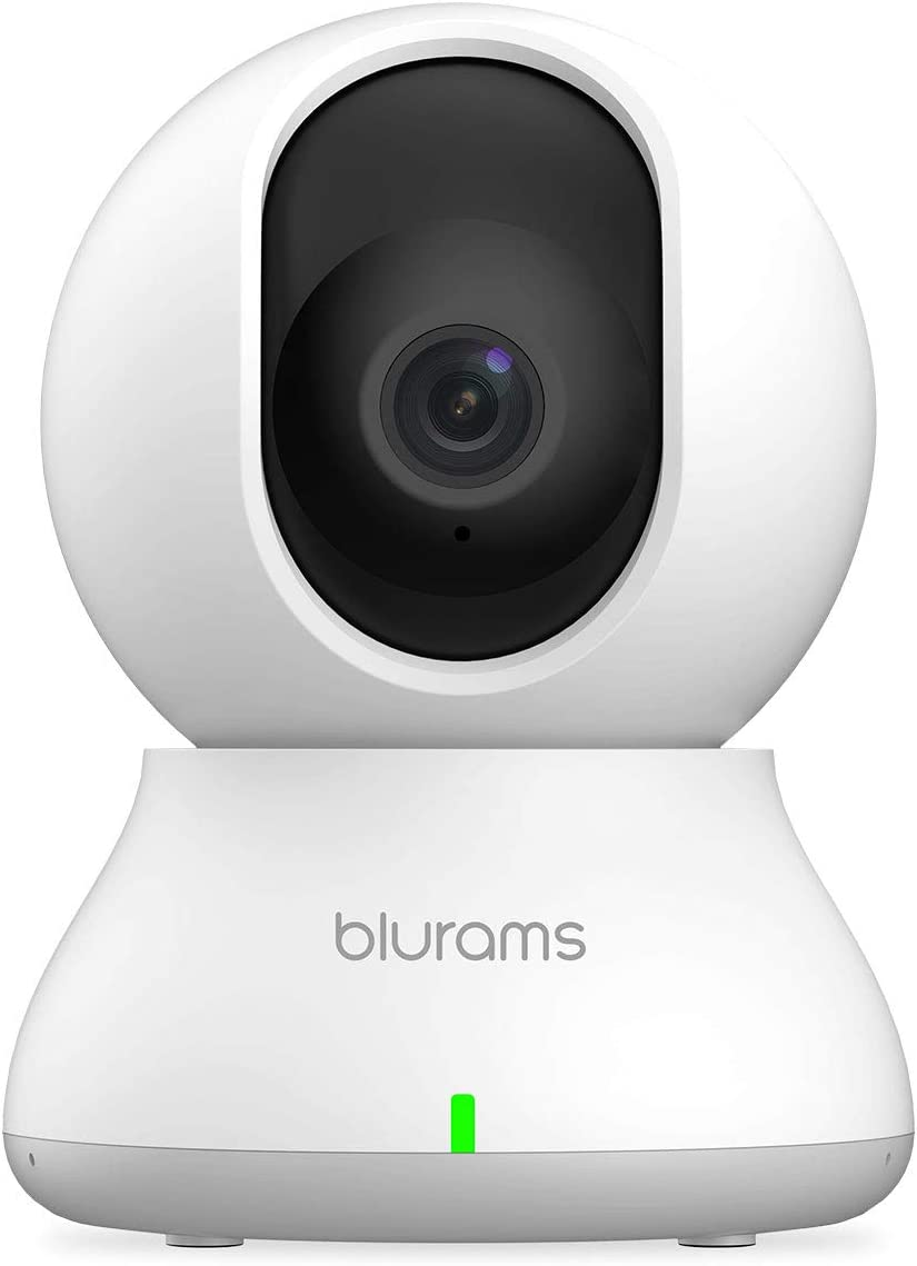 blurams Dome Camera 1080p Security Camera Indoor Pan/Tilt/Zoom WiFi Camera with Smart Motion/Sound/Person Detection Two-Way Audio Night Vision Privacy Mode | Cloud&Local Storage| Works with Alexa