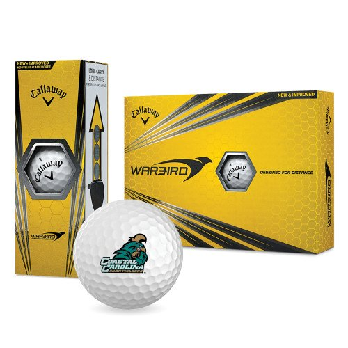 Coastal Carolina Callaway Warbird Golf Balls 12/pkg 'Official Logo' by CollegeFanGear