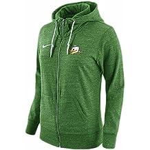 Nike Womens Oregon Ducks College Tailgate Gym Vintage Full-Zip Hoodie Green