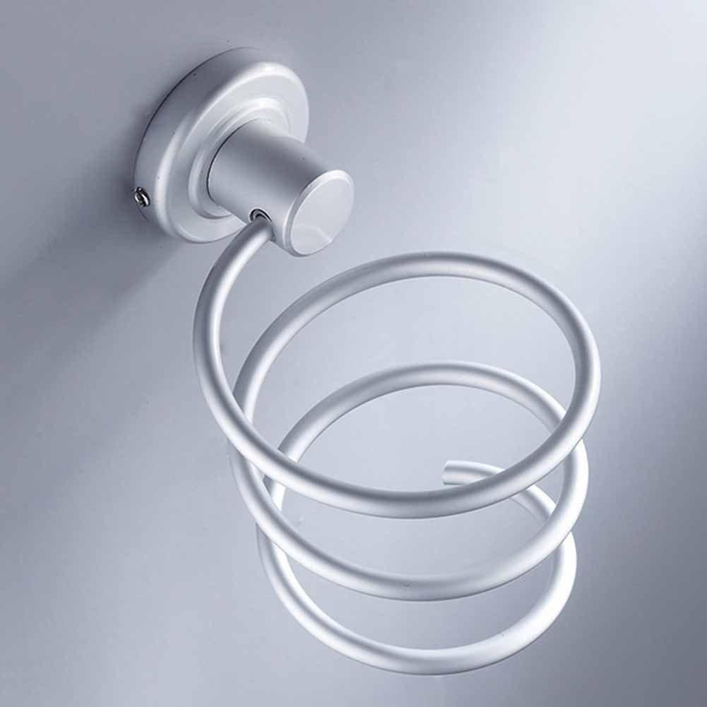 Strato Titolare asciugacapelli asciugacapelli rack asciuga place staffa asciugacapelli supporto da parete con un ripiano per vasca da bagno bagno without cup #1 JLAKYU7