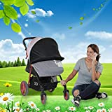 ditional Baby Stroller Mosquito Bug Net Insect Netting Cover Universal Mosquito Net Sun Shade Anti-UV Foldable Mosquito Net Bed Full Mesh Cover way high quality