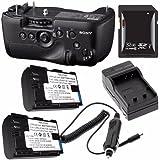 Sony Vertical Battery Grip Alpha A99 DSLR Camera + NP-FM500H Battery + External Charger + 32GB SDHC Card Saver Bundle