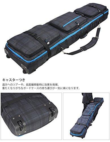 VAXPOT(バックスポット)スノーボードケースキャスター付き大容量収納4WAYタイプ前面4ポケットCH-CHRLサイズ(160cmタイプ)【スノーボードウェア、板、ブーツ、アクセサリーが収納可能】VA-3212