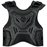 Icon Stryker Field Armor Protection Vest Stealth Small/Medium