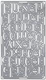 Sizzix 660733 Thinlits Die, Reindeer Names by Debi Potter