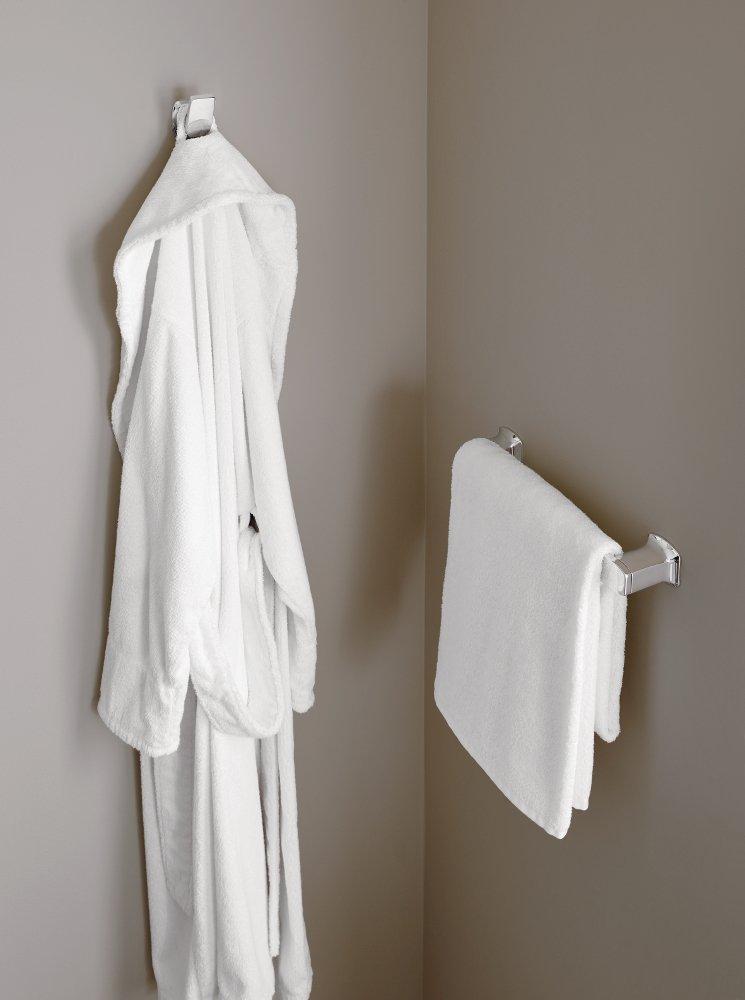 Moen YB5012CH Via 12'' Towel Bar, Chrome by Moen (Image #2)