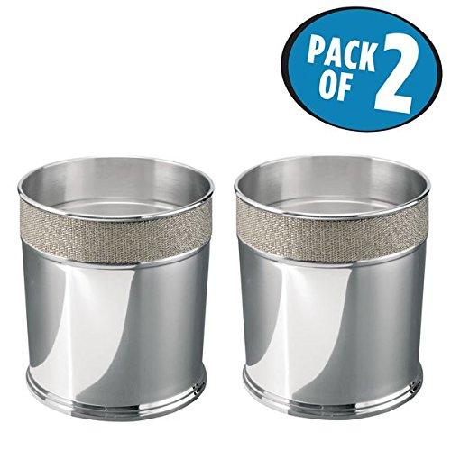 Stainless Steel Waste Paper Basket - 5