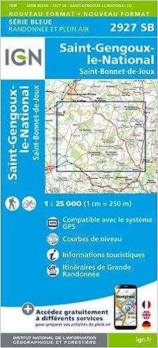 Livre gratuits 2927SB ST GENGOUX LE NATIONAL ST BONNET DE JOUX epub, pdf