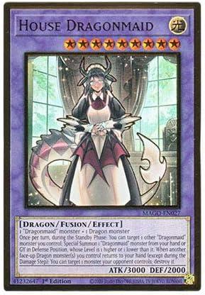 Yu-Gi-Oh Japanese DBMF-JP022 Dragonmaid Husky Ultra Rare