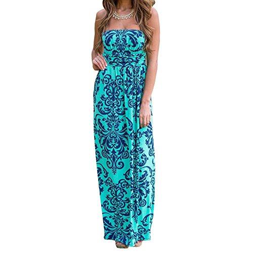 Buy 1 shoulder maxi dress - 7