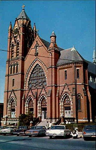 St. James Roman Catholic Church, 6 Cottage Street Haverhill, Massachusetts Original Vintage Postcard (Cottage Wakefield)