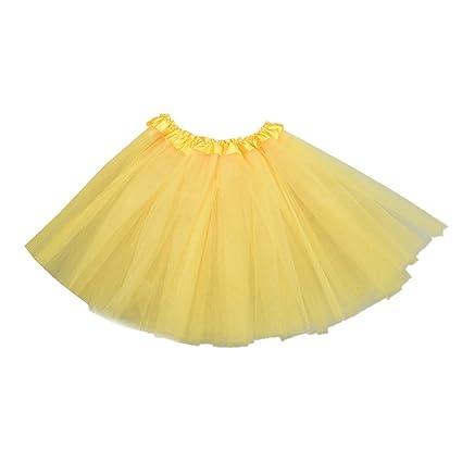 BESTOYARD Vestido de Falda de tutú en Capas de Tul para ...