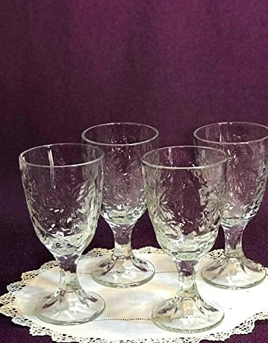 Princess House Fantasia Set - Princess House Fantasia Fine Crystal Wine Glasses and Water Goblet, set of 4