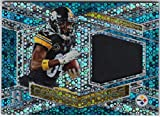 #3: Antonio Brown 2018 Panini Spectra Corner Stones Neon Blue Prizm Refractor Jersey Card Serial #42/50 Pittsburgh Steelers