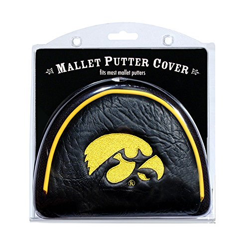 Team Golf NCAA Iowa Hawkeyes Mallet Putter - Golf Hawkeyes Iowa Putter