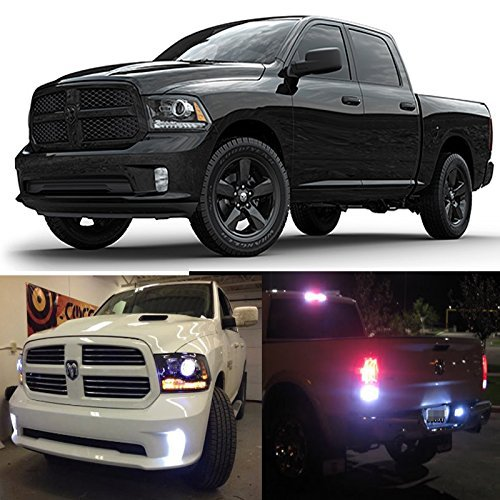 2016 Dodge Ram 3500 >> Ledpartsnow Exterior Led Lights Replacement For 2013 2016 Dodge Ram 1500 2500 3500 Hd Heavy Duty Accessories Package Kit Fog Reverse Backup