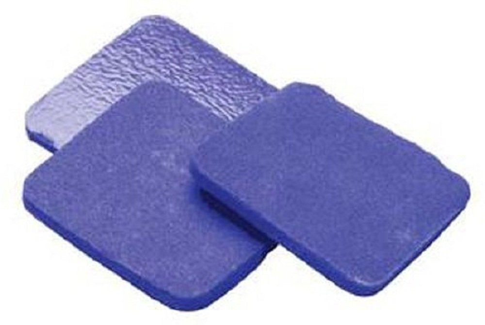 Hydrofera Blue - Ready - Antimicrobial Foam Dressing - 8 X 8 Inch Square Non-Adhesive without Border Sterile - 10/Box - McK