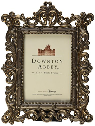 Downton Abbey Frame with an Opening for a 5