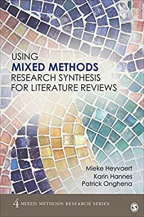 the case for mixed methodology research a review of literature and methods Will present the research questions and literature that shaped the study design,   mixed method designs use 'qualitative and quantitative data collection and  analysis  overlap between analysis of data in one case and data collection  and.